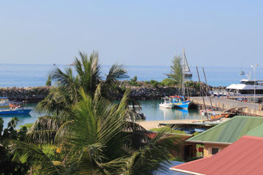 La Digue Harbour